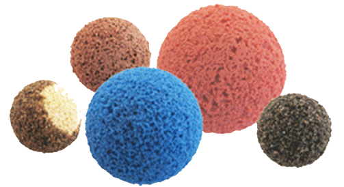 THE SPONGE BALLS